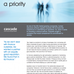 cascade case study document